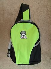 LIME GREEN WIGGLEBUTT SLINGBack BACKPACK