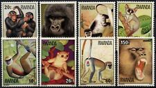Rwanda 1978 SG#859-866 Apes, Monkeys MNH Set #D58763