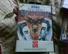 Master System Jeu version de Wolfchild no manual