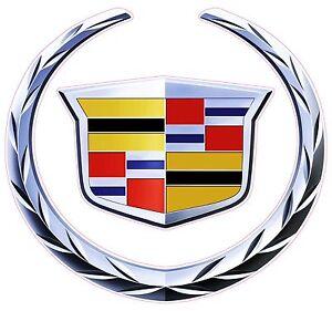 "Cadillac Decal 5"" x 5"""