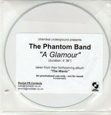 (DD205) The Phantom Band, A Glamour - 2010 DJ CD