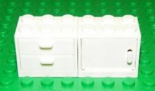 LEGO - Container, Cupboard & Drawers 2 x 3 x 2 - White