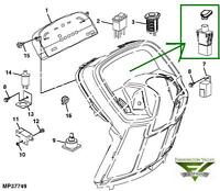 John Deere X465 X475 X485 X495 X575 X585 X595 PTO Switch w/ Handle AM133837 New