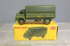 DINKY TOYS MODEL No.621  3-Ton ARMY WAGON  (BEDFORD RL)   VN MIB