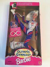 1995 Barbie Blonde Hair Olympic Gymnast W/ Duffle Bag Atlanta Games # 15123 New