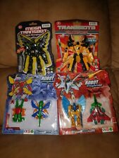 Transformers knock Off Bootleg Transbot Robot Fighter Lot Toys Action Figure