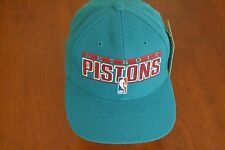 Vintage Detroit Pistons Wool-Blend Snapback Hat by Sports Specialties, NWT, M410