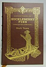 Adventures of Huckleberry Finn Mark Twain Easton Press Illustrated Leather