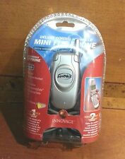 INNOVAGE Deluxe Corded Handheld Mini Flip Phone & Hands-Free Headset *NEW*