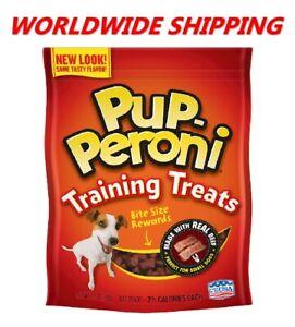 Pup-Peroni Training Treats Real Beef Dog Treats 5.6 Oz WORLDWIDE SHIPPING