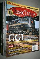 Classic Trains 25 various copies of fine condition magazines