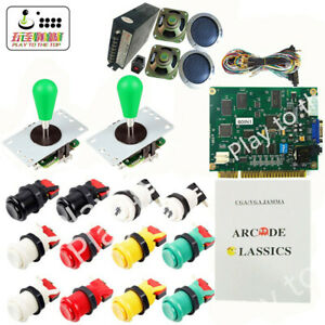 Arcade 60 in 1 Game DIY kit Classical JAMMA   Complete fittings for Arcade game
