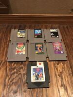 ***Nintendo NES Lot Of 6 AUTHENTIC ASSORTED GAMES