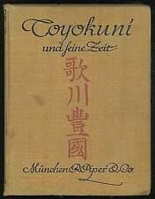 Friedrich SUCCOU / Utagawa Toyokuni und Seine Zeit 1914