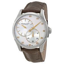 HAMILTON Jazzmaster Regulator Silver Dial  Men's Watch H42615553 RETAIL $1275