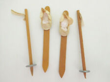 "Vintage Vogue Ginny Wood Skis & Ski Poles for 8"" Doll"