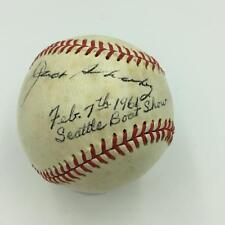 1961 Ted Williams & Boxer Jack Sharkey Signed Baseball With JSA COA