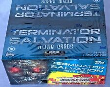 TERMINATOR Salvation 2009 Movie TOPPS Sealed Hobby Trading Card Box - Autograph