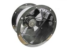 "Industrial Commercial Cased Axial Extractor Duct Fan 200mm (8"")"