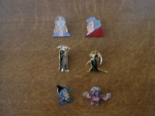 More details for discworld pin badges.set of 6.