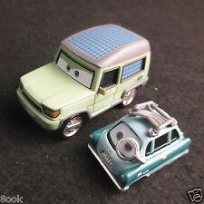Mattel Disney Pixar Cars 2 Miles Axlerod Range Rover & PROFESSOR Z Diecast Set