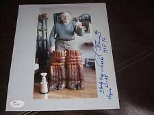 JOHNNY BOWER AUTOGRAPHED  8X10- 3 INSCRIPTIONS-JSA COA