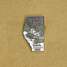 WHITECOURT AB ALBERTA CANADA TRAILBLAZERS SNOW MOBILE CLUB ASA JAMBOREE 1989 PIN