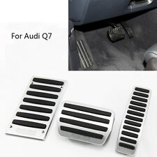 Pedal Cover Fuel Gas Brake Foot Rest Housing No Drilling For Audi Q7 AT 07-15