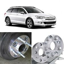 4pcs 5X108 65.1CB 25mm Thick Hubcenteric Wheel Spacer Adapters For Citroen C5/C6