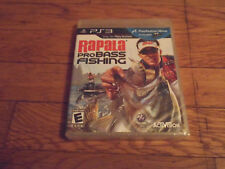 Rapala Pro Bass Fishing (Sony Plays.3,2010) *** Factory seal Video Game Only ***