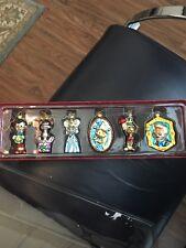 Disney Store Pinocchio Glass Ornament Set - Rare, Good Condition