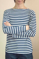 WARM RUSSIAN NAVY SAILOR'S STRIPED T-SHIRT FOR WNTER NEW S, M, L, XL telnyashka