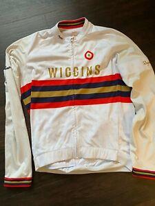 Rapha Wiggins Core Long Sleeve Jersey Large Tour de France Bradley Wiggins Pidco