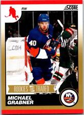 MICHAEL GRABNER 2010-11 Score Rookies and Traded Gold #593 ($0.75 MAX SHIP)
