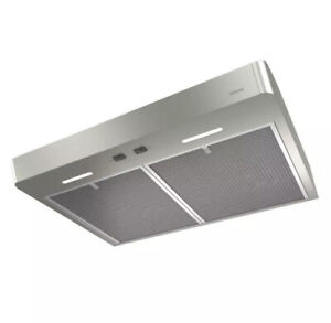 NEW!! NuTone Mantra 30 in. Convertible Under Cabinet Range Oven Hood with Light