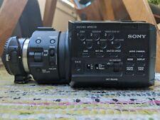 Sony NEX-FS100U + Metabones EF Speed Booster + ECM-XM1 + accessories