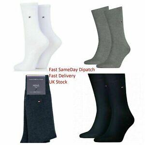 Tommy Hilfiger Men's Work Socks Crew Dress Soft Cotton Sports Socks 6-11 Lot