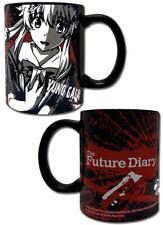 Future Diary Yuno Black Coffee Mug Cup Anime Manga NEW