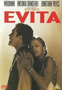 Evita (DVD) Region 2 - Very Good Condition