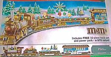 M&M ELECTRIC TRAIN COLLECTION -ON30 SCALE HOLIDAY EXPRESS BY HAWTHORNE VILLAGE