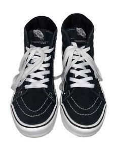 Vans SK8 Hi Skateboard Classic White/ Black Mens Womens Sneakers Shoes