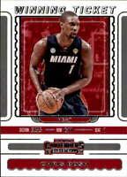 2019 Panini Contenders Winning Ticket #8 Chris Bosh Miami Heat