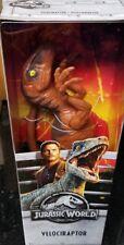 "Mattel Jurassic World 2 Fallen Kingdom 12"" VELOCIRAPTOR Action Figure IN STOCK"