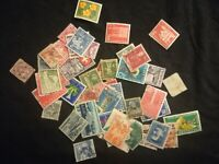 lot N°79 - 50 timbres SUISSE