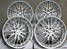 "Roues en Alliage 18 in (environ 45.72 cm) 18"" CRUIZE 190 SP Silver polihsed Deep Dish 5X112 wheels"