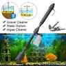 Aquarium Gravel Cleaner Siphon Vacuum Battery Powered Fish Tank Water Filter