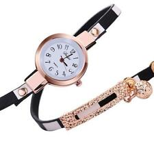 Fashion Women Charm Wrap Around Leatheroid Quartz Wrist Watch BK2016 New