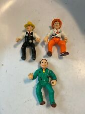 Vintage Disney Playmates Dick Tracy 3 Character Figure Toy Lot