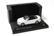 1:43 iscale BMW 4er 435i CABRIO WHITE SP spacciatori NEW in Premium-MODELCARS