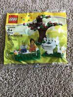 *NEW* LEGO Springtime Scene Promo Polybag 40052 Spring Minifigure Tree Minifig